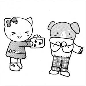 バレンタインとネコ1